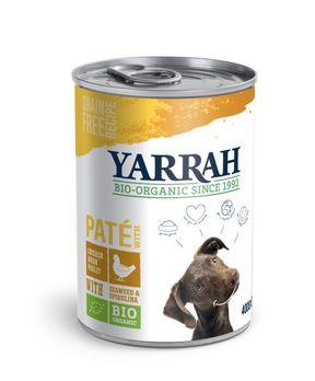 Yarrah Hundefutter Paté Huhn 400g