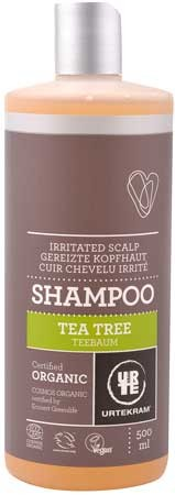 Urtekram Shampoo Teebaum (tea tree, antibakteriell) 500ml