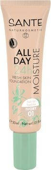 SANTE All Day Moisture 24h Fresh Skin Foundation 01 30ml