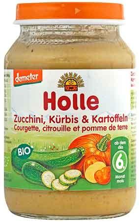 Holle Zucchini, Kürbis & Kartoffeln demeter 190g
