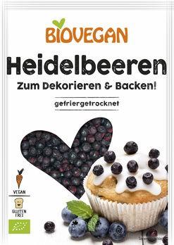 Biovegan Heidelbeeren, ganz, gefriergetrocknet 14g