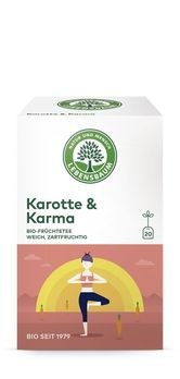 Lebensbaum Karotte & Karma Tee 20 Btl