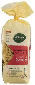 Naturata Hartweizen Spirelli, hell, demeter 500g