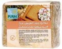 Pural Glutenfreies Vollkornbrot 375g
