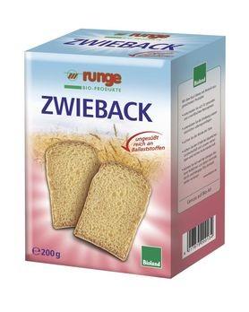 Runge Vollkorn-Zwieback 200g