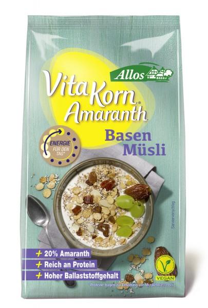 Allos Vita Korn Amaranth Basen Müsli 375g/A