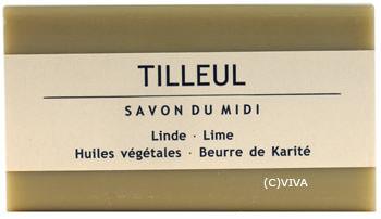 Savon Du Midi Karité-Pflanzenölseife Linde 100g/A