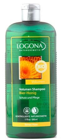 LOGONA Volumen Shampoo Bier & Bio-Honig 500 ml