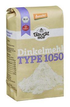 Bauckhof Dinkelmehl Type 1050 Demeter 500g