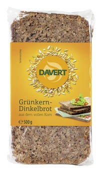 Davert Dinkel-Grünkern-Schnittbrot 500g