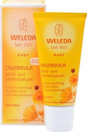 Weleda Calendula Wind- und Wetterbalsam 30ml