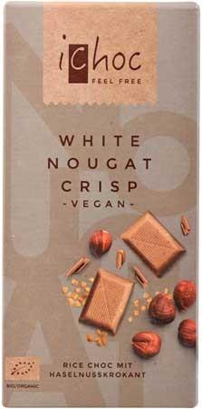 Vivani iChoc White Nougat 80g