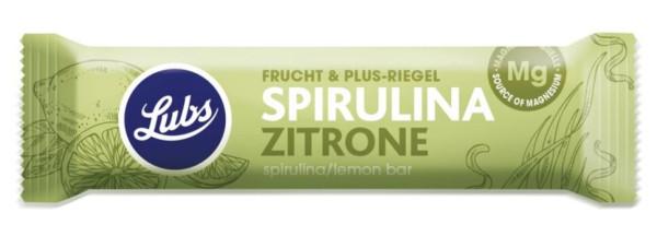 Lubs Fruchtriegel Frucht & Plus Spirulina Zitrone glutenfrei 40g