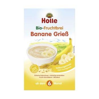 Holle Fruchtbrei Banane-Grieß 250g
