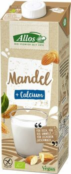 Allos Mandel Drink plus Calcium 1l