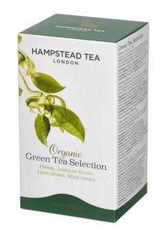 Hampstead Tea Green Selection 4 Sorten demeter 20Btl