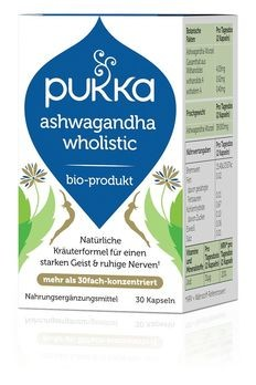 PUKKA Ashwagandha Wholistic Kapseln 30 Stück