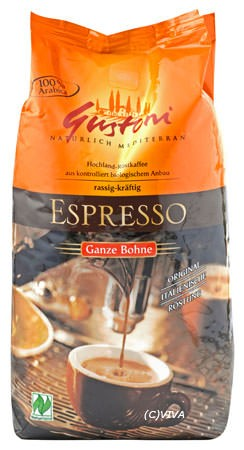 Gustoni Kaffee Espresso Ganze Bohne 1kg