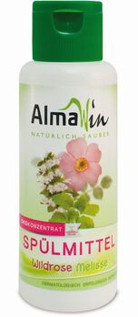 AlmaWin Spülmittel Wildrose Melisse 100ml