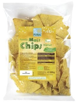 Pural Family Maischips Natur 200g