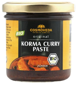 Cosmoveda Korma Curry Paste 160g