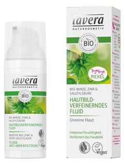 Lavera Hautbildverfeinerndes Fluid Bio-Minze 50ml