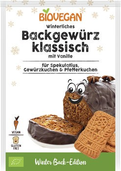 Biovegan Winterliches Backgewürz klassisch 15g