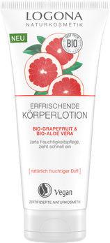 LOGONA Erfrischende Körperlotion Bio Granatapfel & Bio-Aloe Vera 200ml