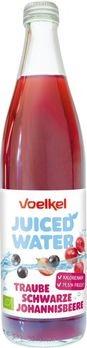 Voelkel Juiced Water Traube Schwarze Johannisbeere 0,5l + 0,15 EUR Pfand