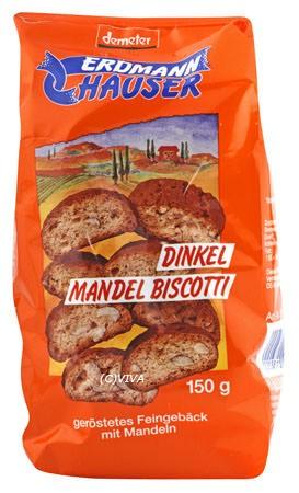 Erdmannhauser Dinkel-Mandel-Biscotti demeter 150g