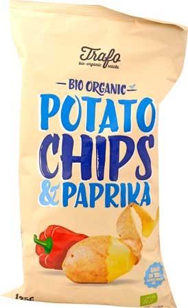 Trafo Kartoffelchips Paprika 125g