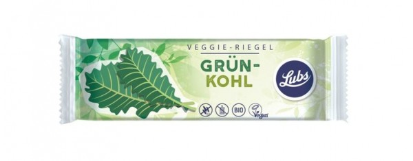 Lubs Veggie-Riegel Grünkohl 30g