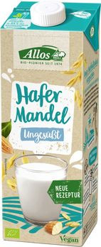 Allos Hafer-Mandel Drink ungesüßt 1l