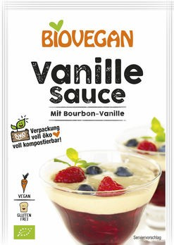 Biovegan Vanille Sauce 2x16g