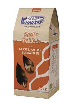 Erdmannhauser Spritzgebäck Gerste, Hafer & Buchweizen demeter 200g