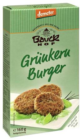 Bauckhof Grünkernburger demeter 160g