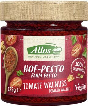 Allos Hof Pesto Tomate Walnuss 125g