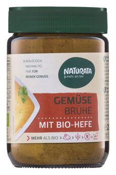 Naturata Gemüsebrühe mit Bio-Hefe, Glas 200g