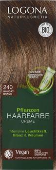 LOGONA Pflanzen-Haarfarbe Creme 240 nougatbraun 150ml