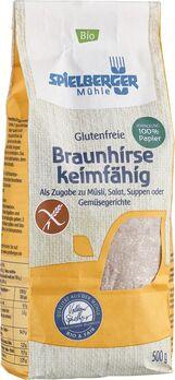 Spielberger Glutenfreie Braunhirse, keimfähig 500g