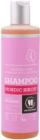 Urtekram Shampoo Nordische Birke (für normales Haar) 250ml