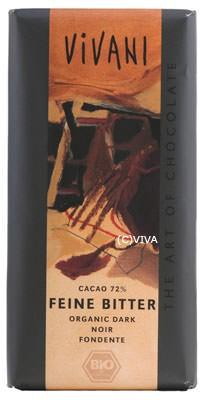 Vivani Feine Bitter, Schokolade mit 71% Kakao 100g