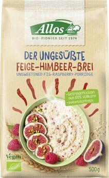 Allos Der Ungesüßte Feige-Himbeer-Brei 500g