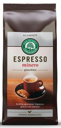 Lebensbaum Espresso minero, gemahlen 250g
