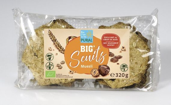 Pural Big Scuits Müsli 320g