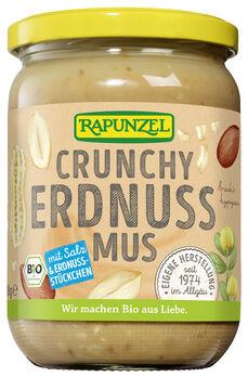 Rapunzel Erdnussmus Crunchy 500g