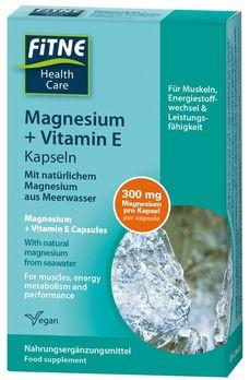 FITNE Magnesium + Vitamin E Kapseln 60 Stück