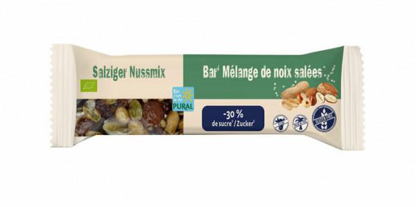 Pural Salziger Nussmix-Riegel 35g
