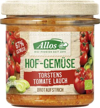 Allos Hofgemüse Torstens Tomate Lauch Brotaufstrich 135g