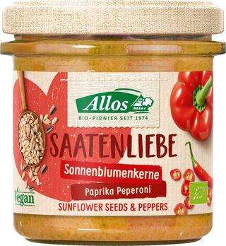 Allos Saatenliebe Sonnenblumenkern Paprika Peperoni 135g